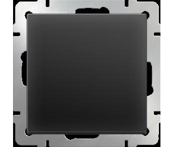 Werkel Выключатель 1-клавишный проходной чёрный
