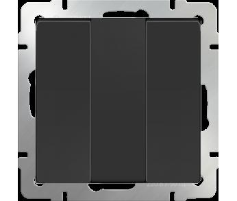 Werkel Выключатель 3-клавишный чёрный