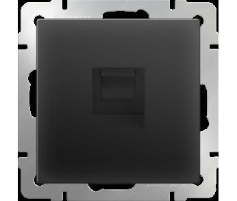 Werkel Розетка Ethernet RJ-45 чёрная